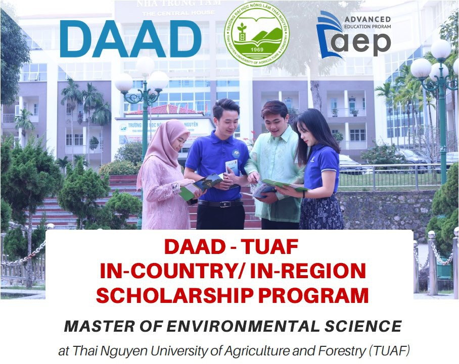 Deadline for apply the Fully-funded DAAD-TUAF Master Scholarship Program is February 21, 2021